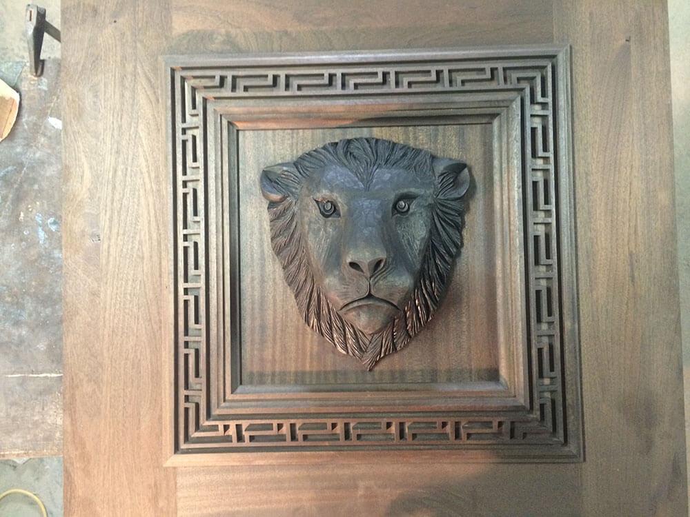 Lion head (2)