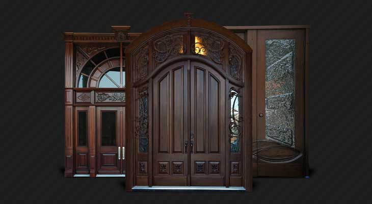 How To Maintain Exterior Wooden Doors In Winter